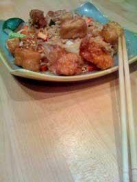 Lemongrass Pad Thai Tofu